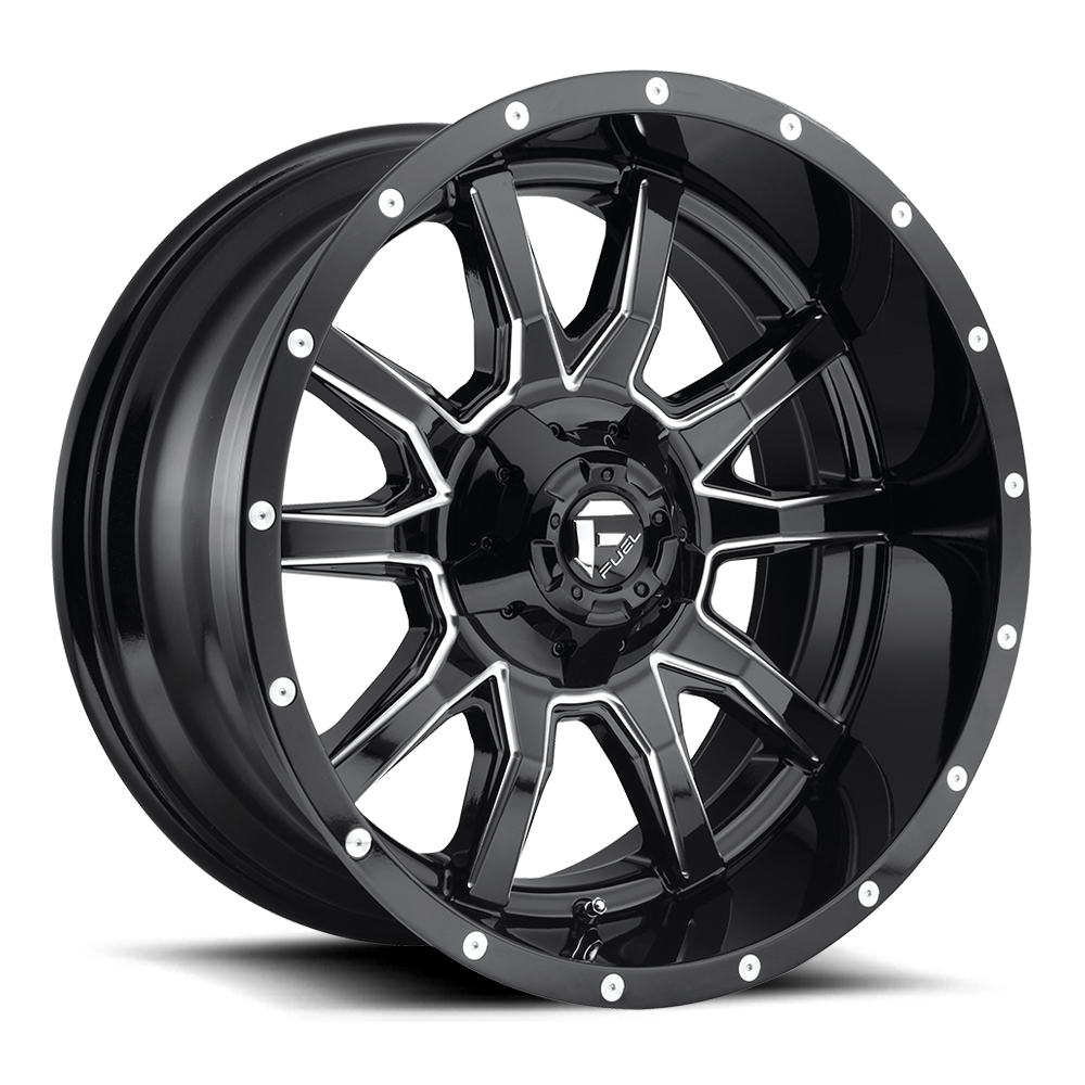 Fuel Offroad Wheels Fuel Offroad D627 Vandal Black and Milled