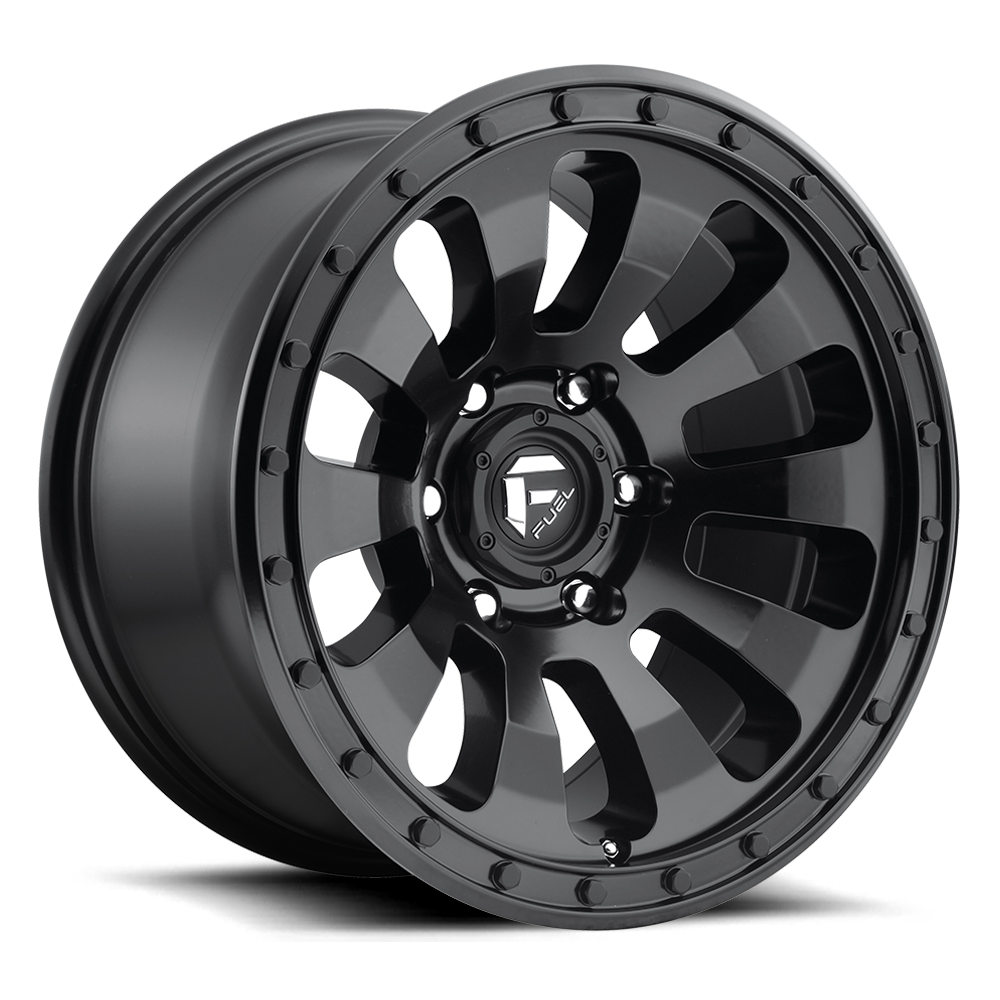 Fuel Offroad Wheels Fuel Offroad D630 Tactic Matte Black