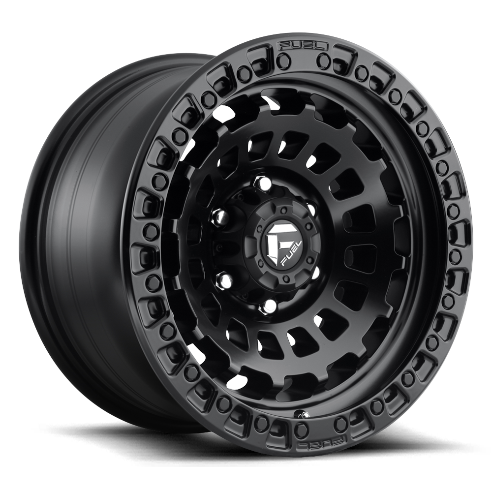 Fuel Offroad Wheels Fuel Offroad D633 Zephyr Matte Black