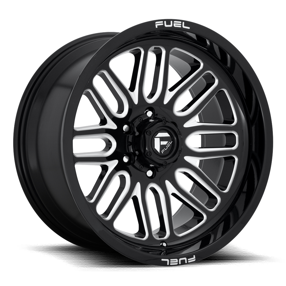 Fuel Offroad Wheels Fuel Offroad D662 Ignite Black and Milled