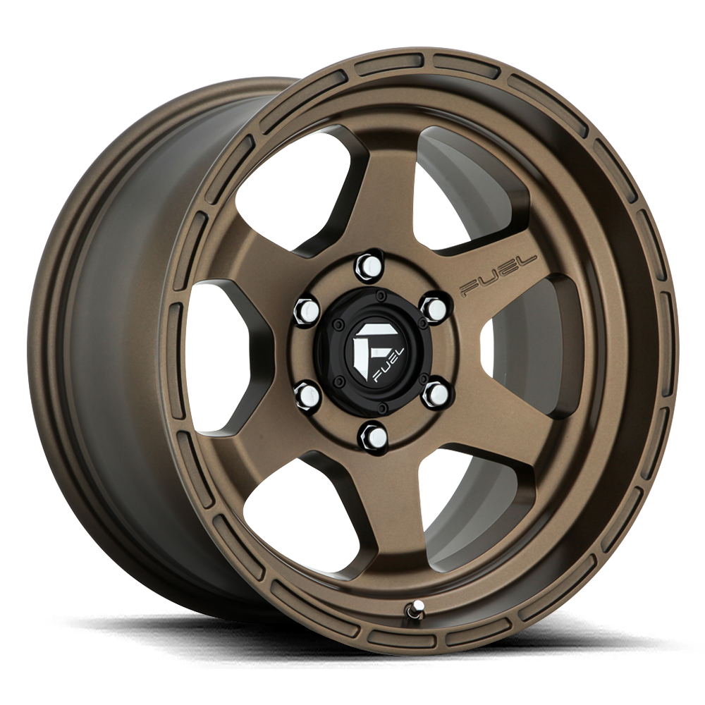Fuel Offroad Wheels Fuel Offroad D666 Shok Bronze