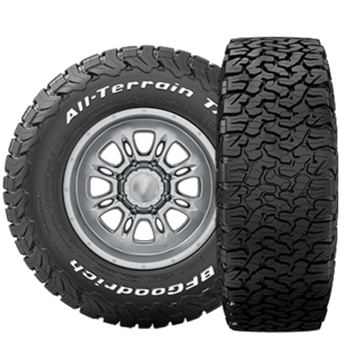 285/55R20 BF Goodrich Tires All-Terrain T/A KO2