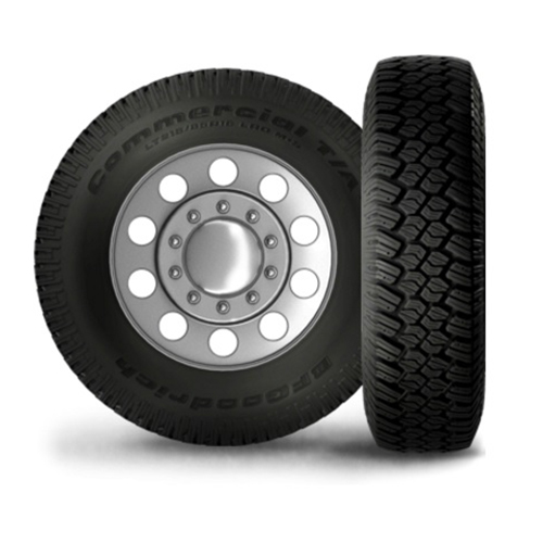 245/75R16 BF Goodrich Tires Commercial T/A Traction