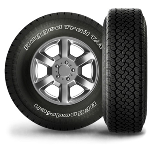 245/75R17 BF Goodrich Tires Rugged Trail T/A