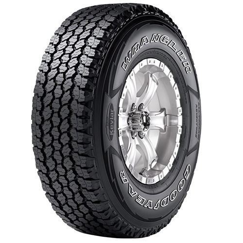 235/75R17 Goodyear Tires Wrangler All-Terrain Adventure w/Kevlar