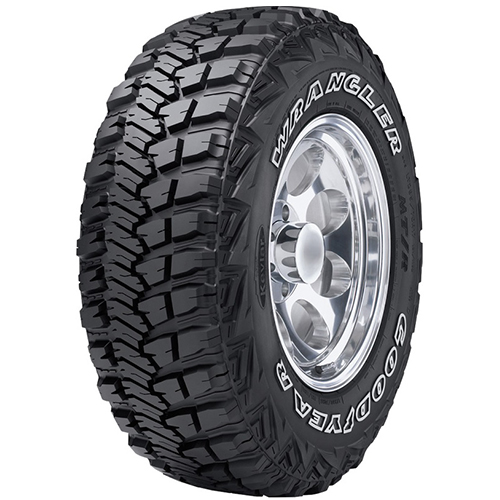 35/12.5R17 Goodyear Tires Wrangler MT/R with Kevlar
