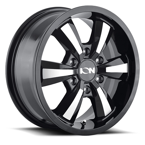 ION Wheels 102 Gloss Black Machined Face