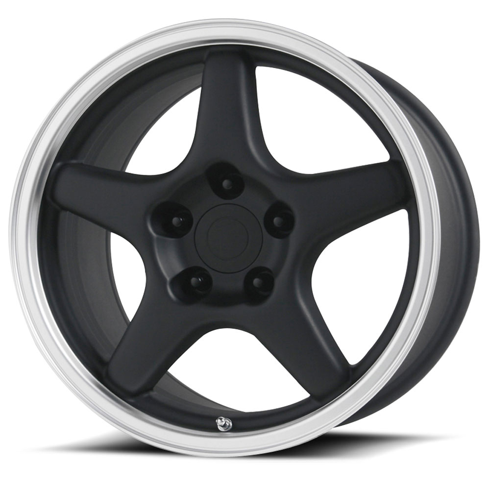 OE Creations Replica Wheels PR103 Gloss Black/Machined Lip