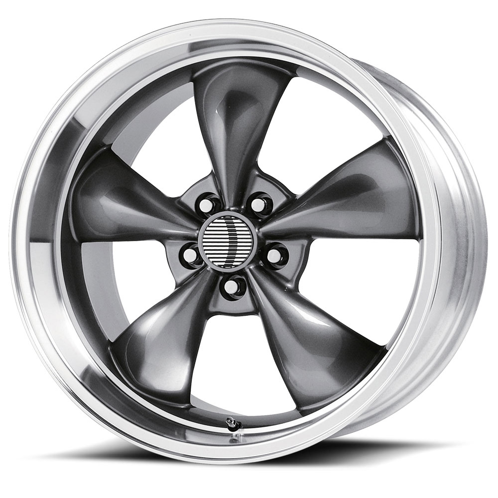OE Creations Replica Wheels PR106 Anthracite/Machined Lip