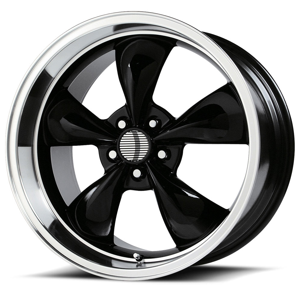 OE Creations Replica Wheels PR106 Gloss Black/Machined Lip