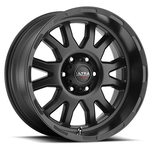 Ultra Xtreme Wheels X108 Satin Black