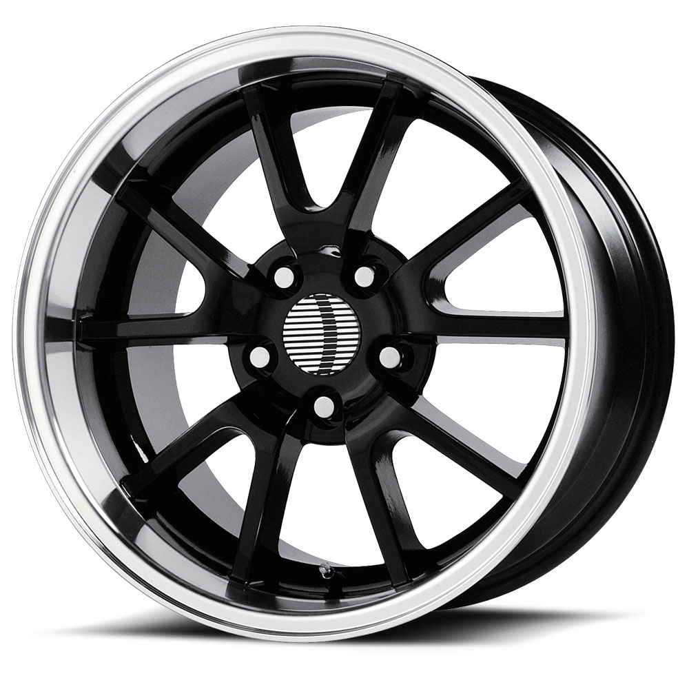 OE Creations Replica Wheels PR118 Gloss Black/Machined Lip