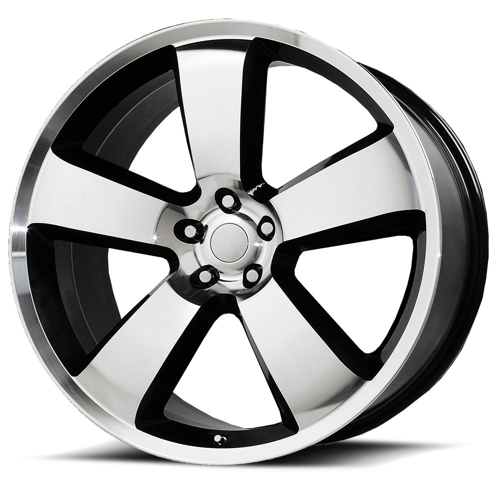 OE Creations Replica Wheels PR119 Gloss Black/Machined Lip