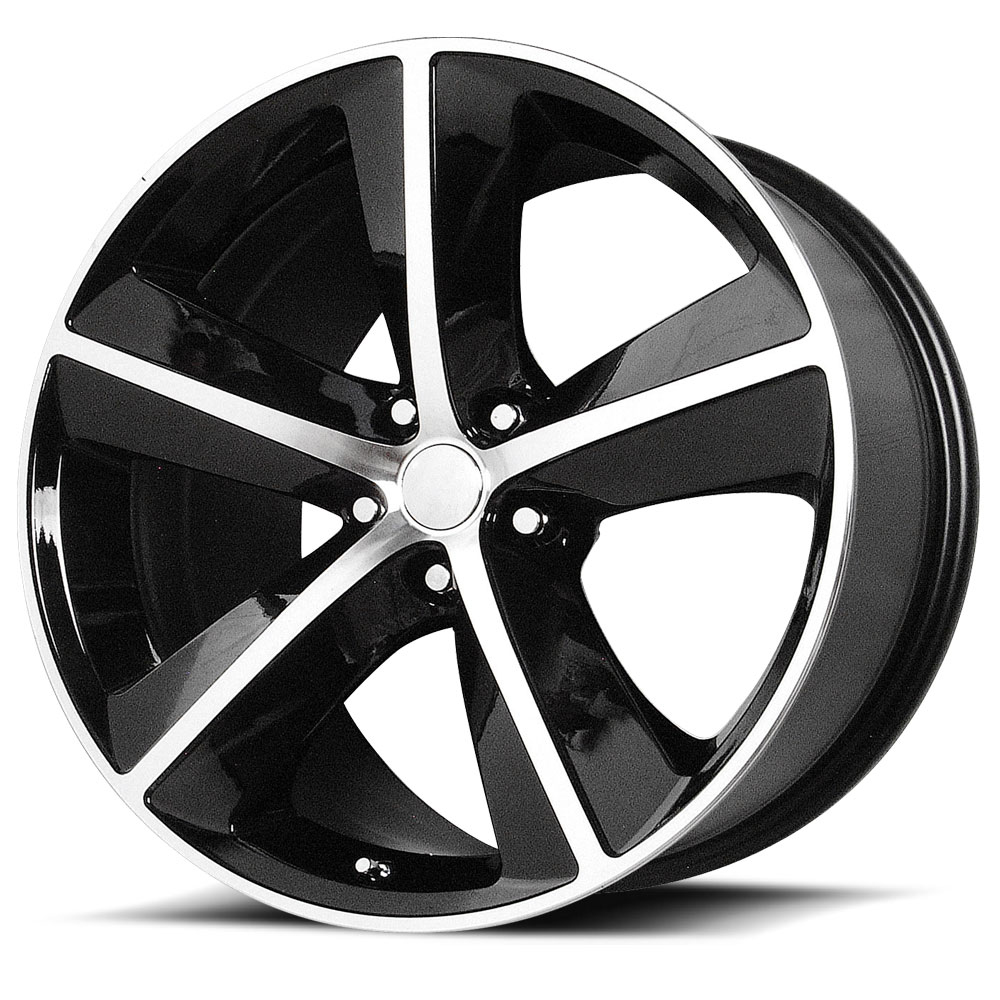 OE Creations Replica Wheels PR123 Gloss Black/Machined Spokes And Lip