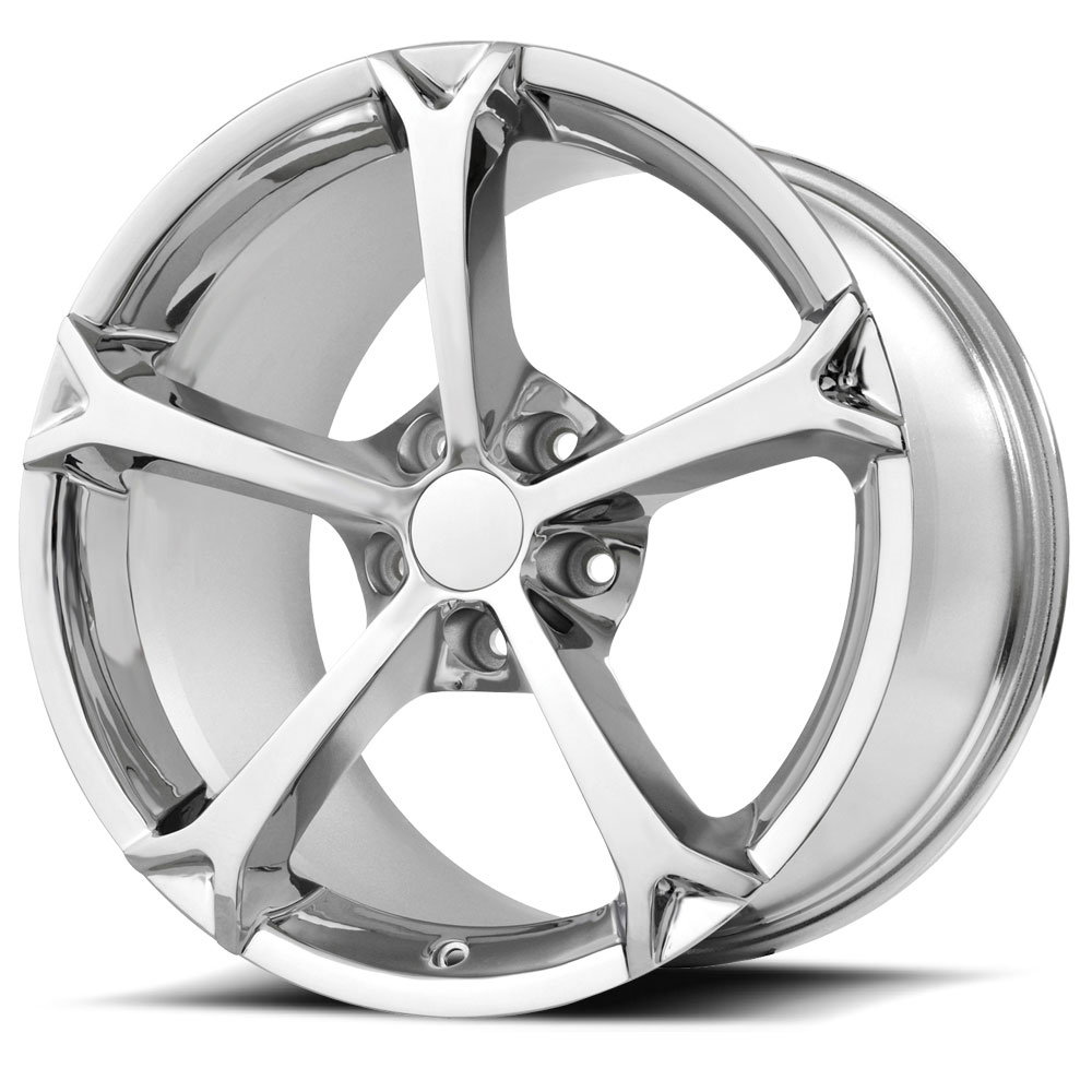 18x9.5 OE Creations Replica Wheels PR130 Chrome Plated