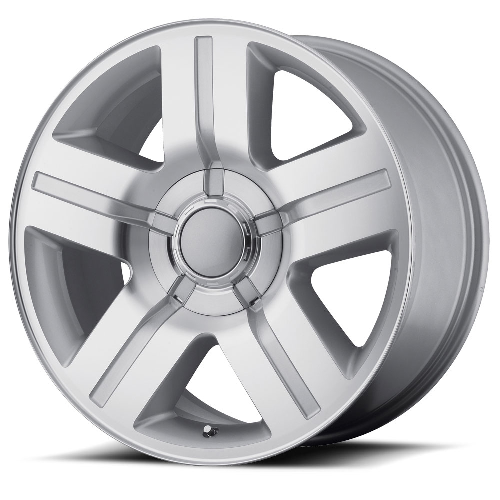OE Creations Replica Wheels PR147 Silver Machined