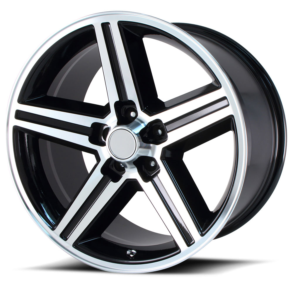 OE Creations Replica Wheels PR148 Gloss Black Machined