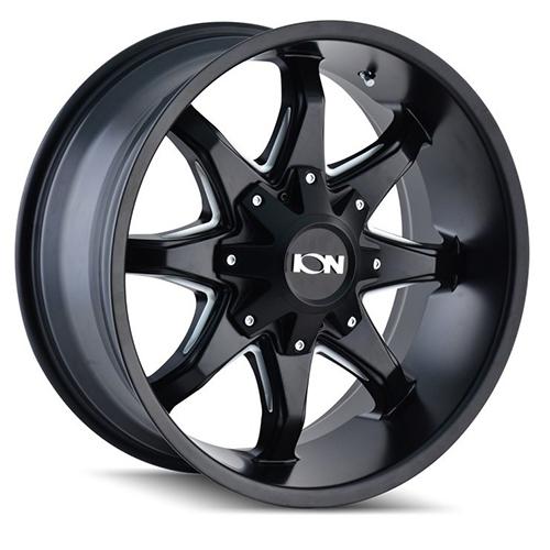 ION Wheels 181 Satin Black Milled Spokes
