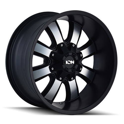 ION Wheels 189 Satin Black Machined Face