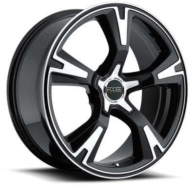- WHEEL SPECIALS - MHT RS Staggered 20x8.5/20x10 Wheels Gloss Black/Machine
