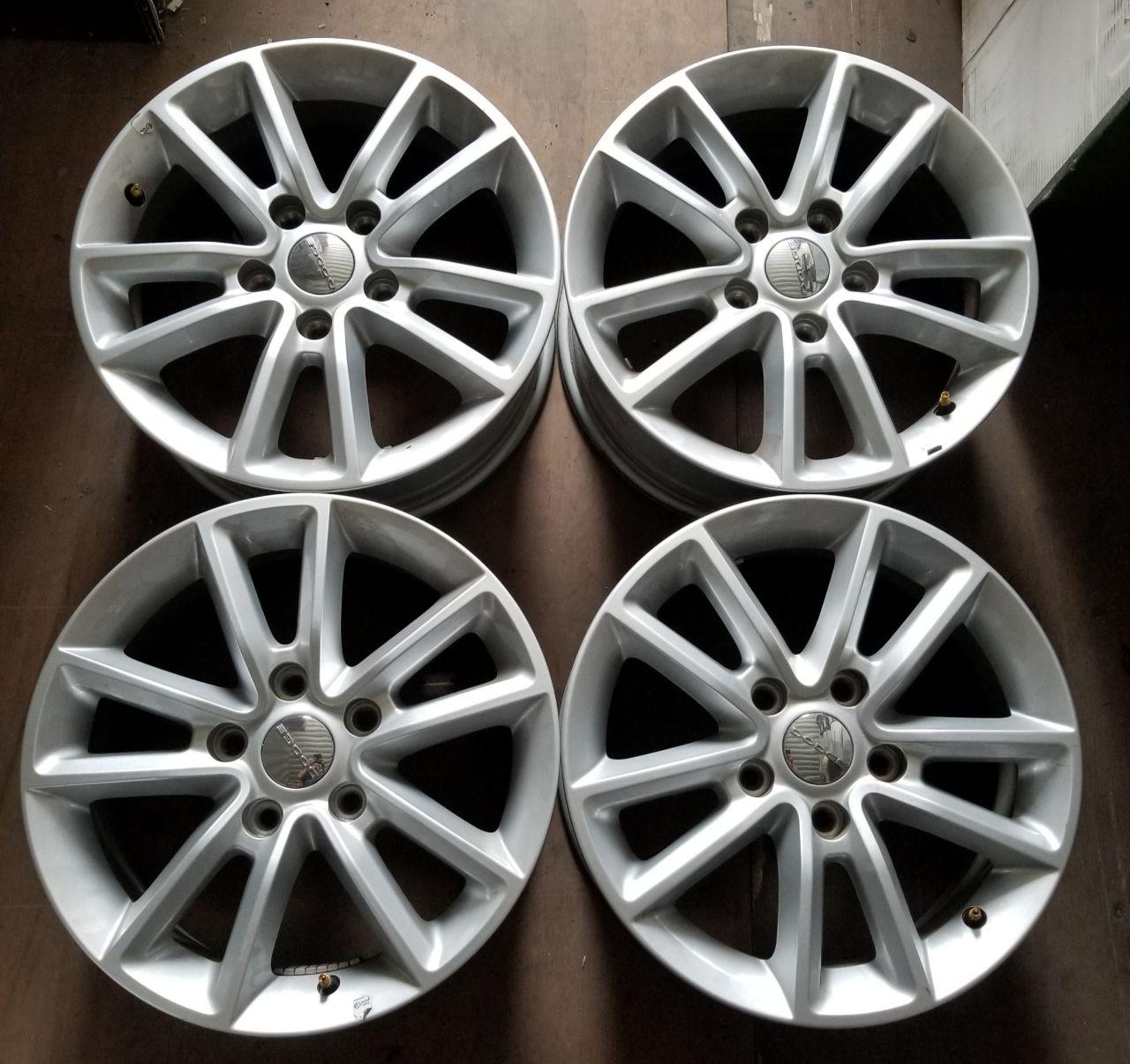 - OEM WHEELS - 2013-2014 DODGE JOURNEY 17x6.5 10 SPOKE Hollander #2460 /  USED