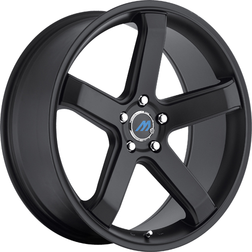 Mach Euro Concave Wheels ME5 Satin Black