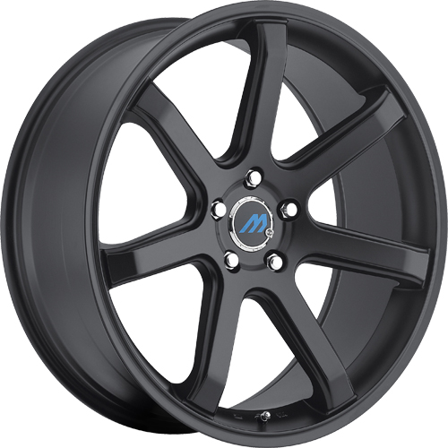 Mach Euro Concave Wheels ME7 Satin Black