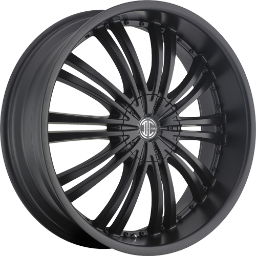 2 Crave Wheels No.1 Satin Black