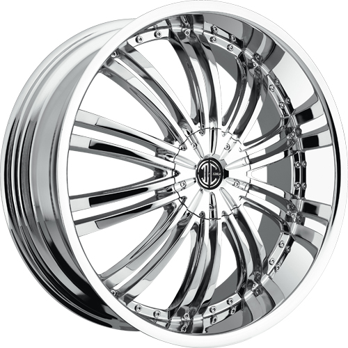 2 Crave Wheels No.1 Chrome