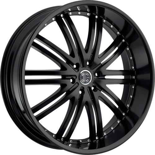2 Crave Wheels No.11 Satin Black
