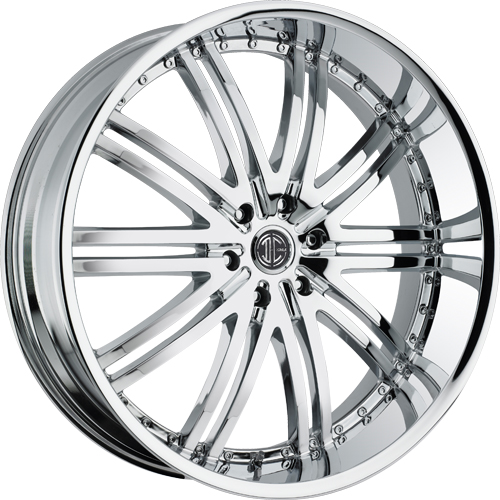 2 Crave Wheels No.11 Chrome