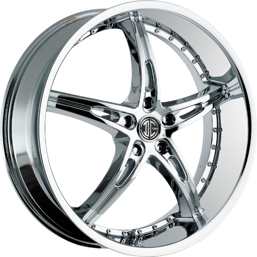 2 Crave Wheels No.14 Chrome