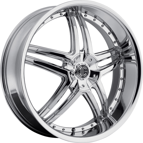 2 Crave Wheels No.17 Chrome