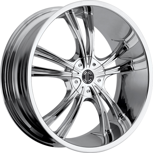 2 Crave Wheels No.2 Chrome