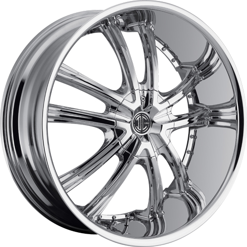 2 Crave Wheels No.24 Chrome