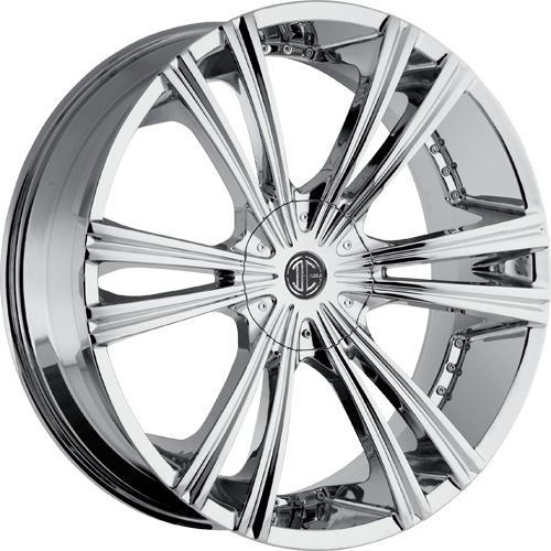 2 Crave Wheels No.28 Chrome