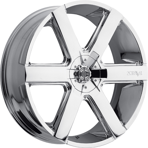 2 Crave Wheels No.31 Chrome