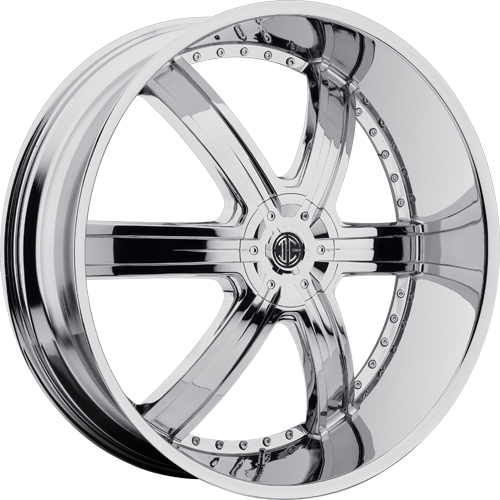 2 Crave Wheels No.4 Chrome
