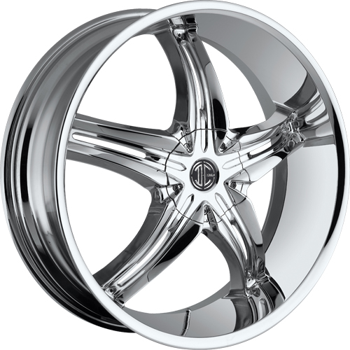 17x7.5 2 Crave Wheels No.5 Chrome