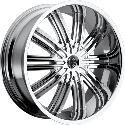 2 Crave Wheels No.7 Chrome