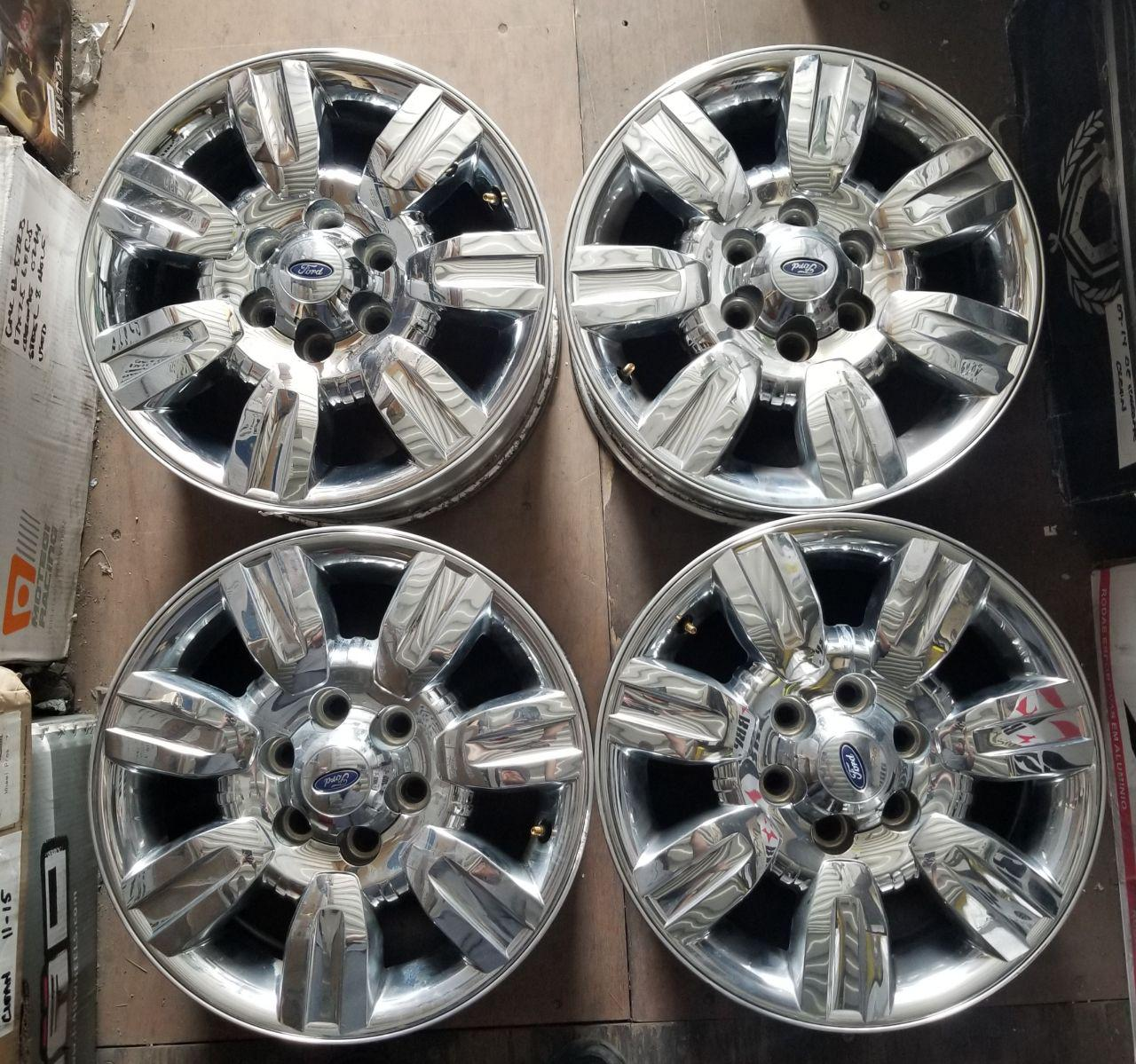 - OEM WHEELS - 2009-2012 FORD F-150 18x7.5 7 SPOKE Hollander #3785 /  USED
