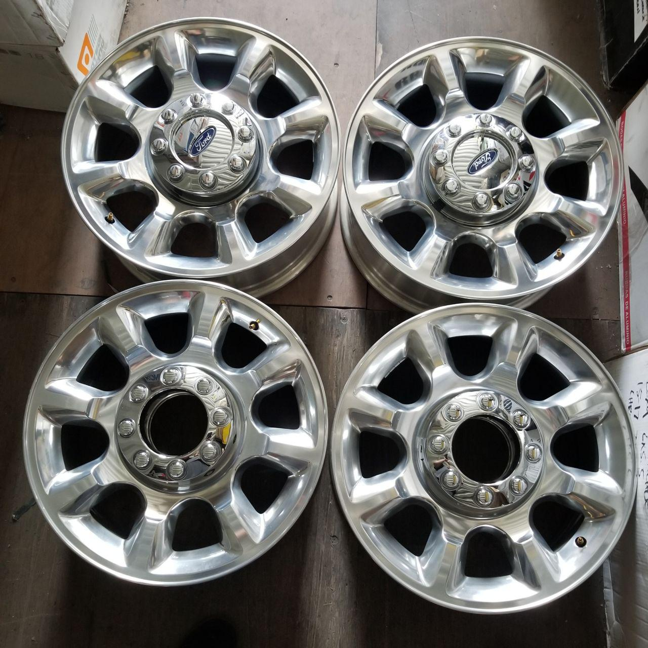 - OEM WHEELS - 2011-2016 FORD F-250/F-350SD 20x8 8 SPOKE Hollander #3844 /  USED