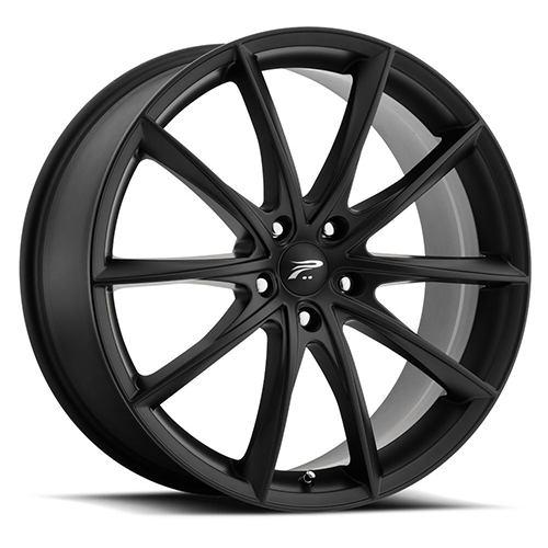 Platinum Wheels 435 Flux Satin Black
