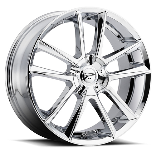Platinum Wheels 436 Gemini Chrome Plated