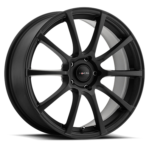 Focal Wheels 448 F-20 Satin Black
