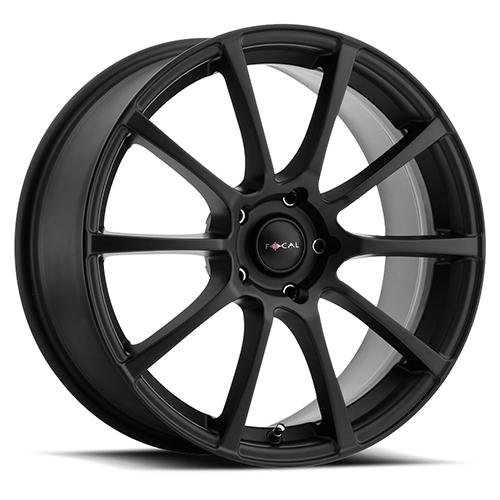 Focal Wheels 448 F-20 Satin Black