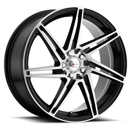 Focal Wheels 449 F-14 Gloss Black with Diamond Cut Face
