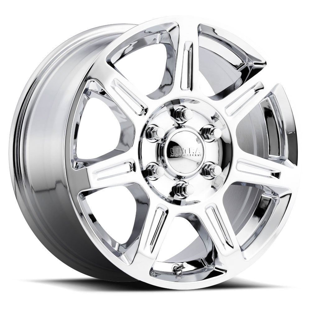 - WHEEL SPECIALS - Ultra Wheels 450 Toil Staggered Set 16x6.5/16x8.5 Wheels Chrome