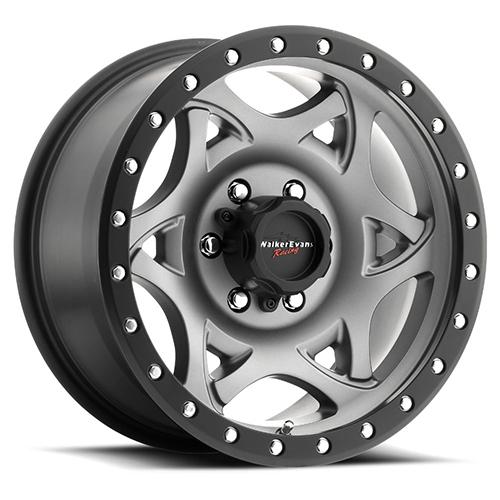 Walker Evans Wheels 501 Legend Graphite Grey with Satin Black Lip