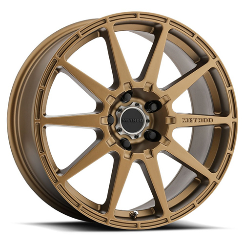 Method Race Wheels MR 501 Rally Bronze